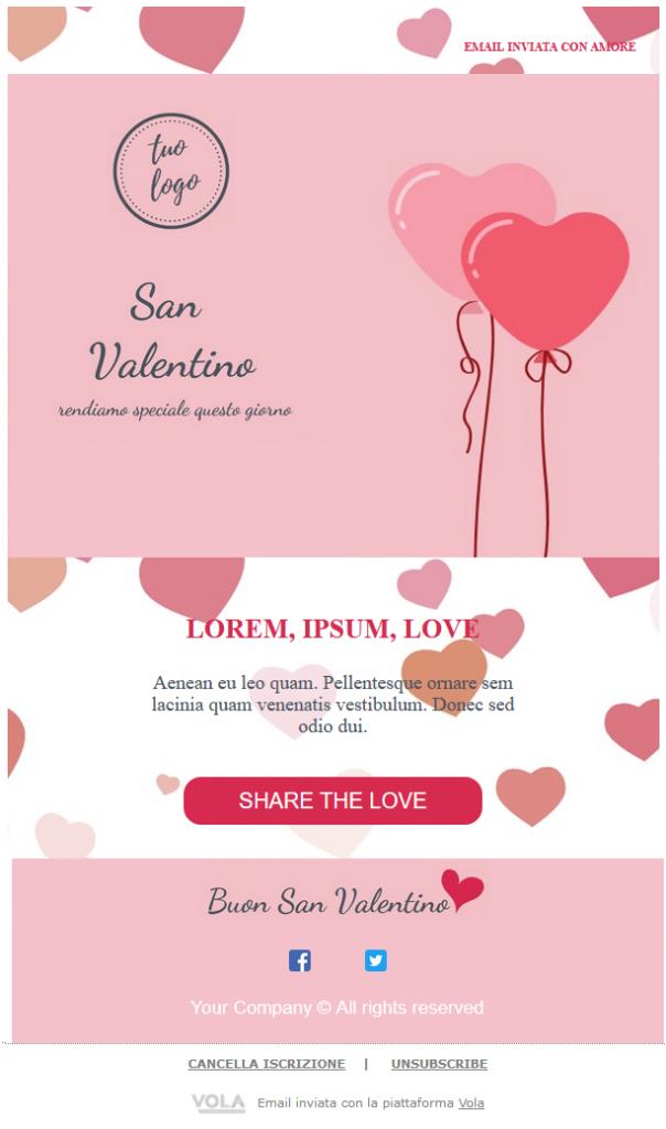 san Valentino template 1