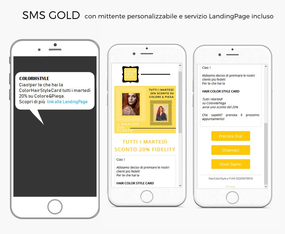 Beauty SMS HairLandingPage
