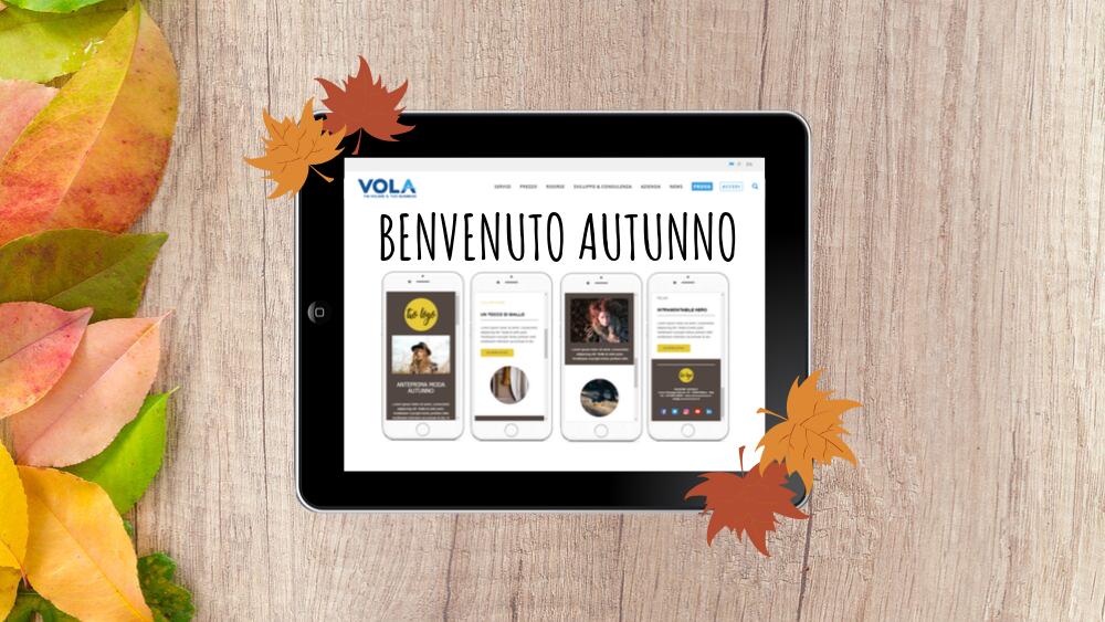 equinozio d'autunno - email vola