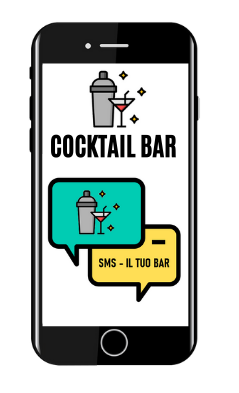 Vola sms per cocktail bar