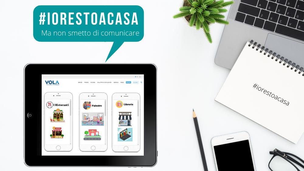 Vola #iorestoacasa