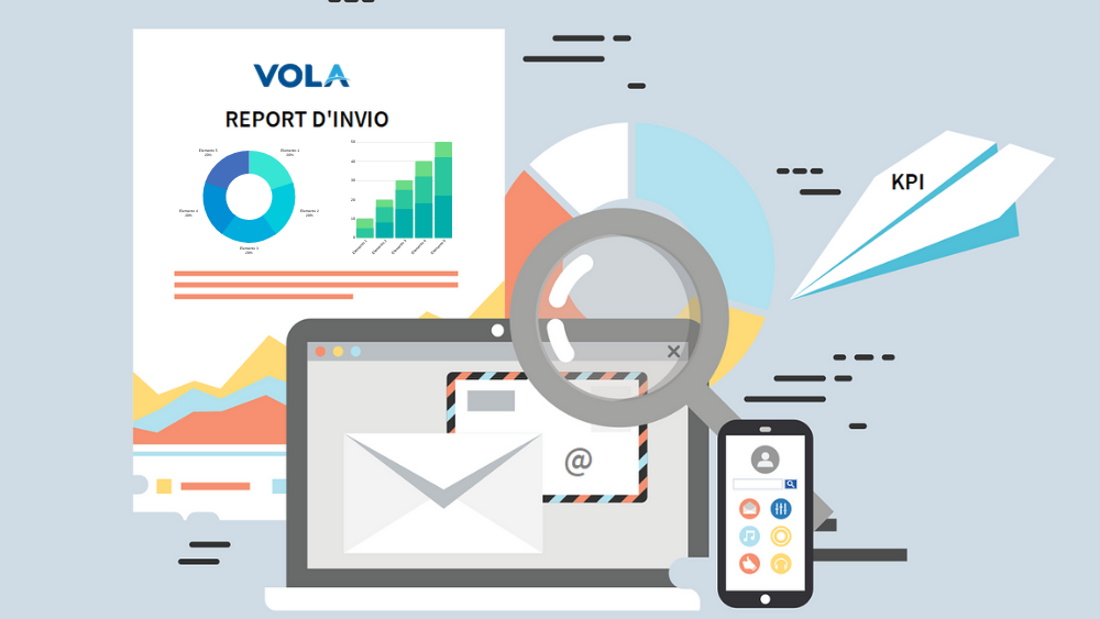 KPI E REPORT INVIO VOLA CAMPAGNE DEM