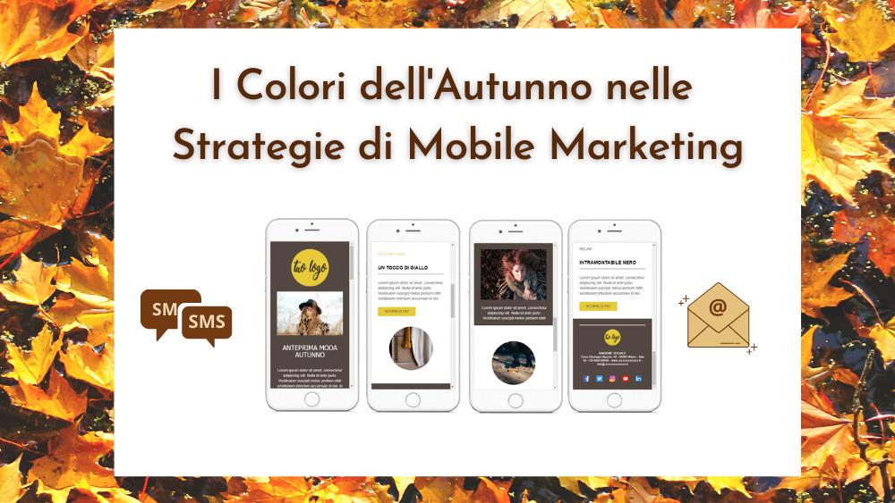 i colori nelle strategie di mobile marketing